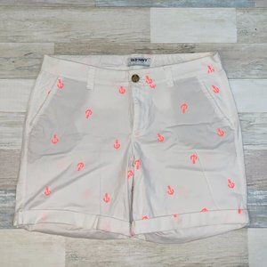 Old Navy Women's Anchor Shorts - Size 8
